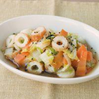 白菜とちくわの和風煮