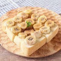 シナモン香る バナナトースト