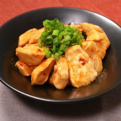 ピリ辛美味しい!鶏むね肉の辛みそ炒め