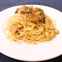 イワシと大豆のスパゲティ
