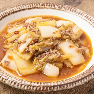 ピリ辛 麻婆白菜