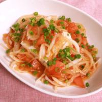 ゆず胡椒香る!豆腐とトマトの和風サラダ