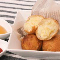 甘じょっぱい とろーりチーズとポテトのおつまみポップ