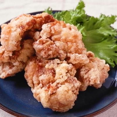 鶏もも肉の塩から揚げ