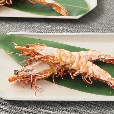 串打ちでまっすぐ 海老の塩焼き