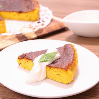 濃厚 かぼちゃのチーズケーキ