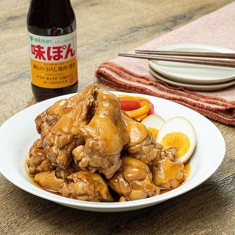 ぽん さっぱり 煮 味 鶏肉 の