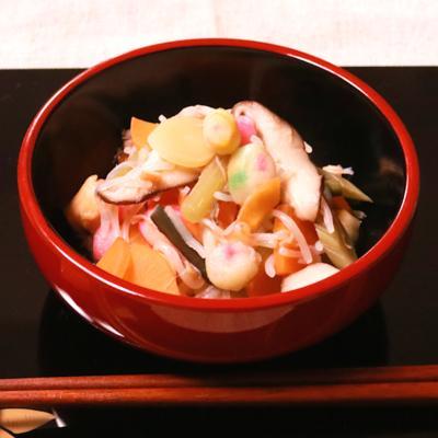 会津武家料理!ホタテ缶で作るこづゆ