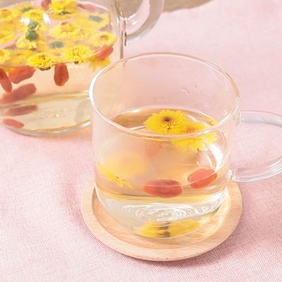 ティータイムに 手作り菊花茶