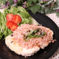 簡単!鶏肉と豆腐のヘルシーハンバーグ