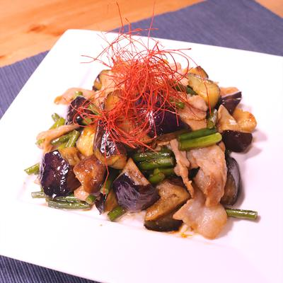 スタミナ満点!ニンニクの芽と豚肉の炒め物