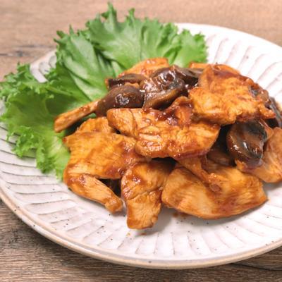 冷めても美味しい 鶏むね肉のバーベキューソース炒め