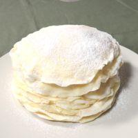 ホットケーキミックスで作る ミルクレープ