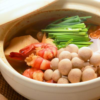 エビのピリ辛キムチ鍋