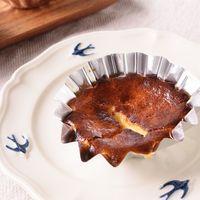 トースターで簡単 バスクチーズケーキ