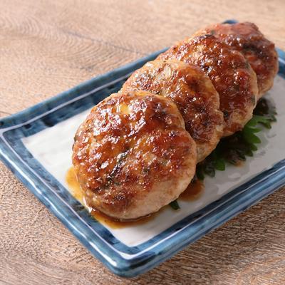 香味野菜入り さっぱり梅ソースの鶏つくね