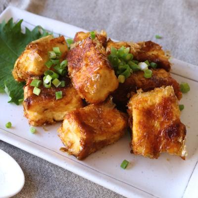 木綿豆腐の土佐焼き