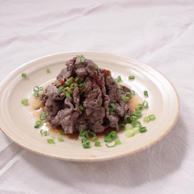 牛肉のさっぱりおろしポン酢