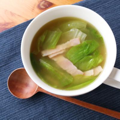 しゃきしゃきレタスの洋風お味噌汁