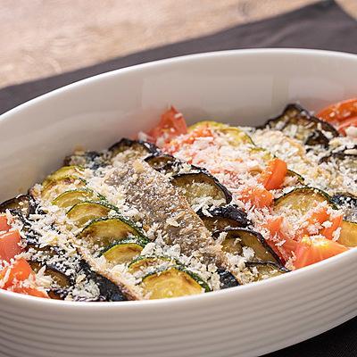 【菊地シェフ】野菜とイワシの南仏風重ね焼き