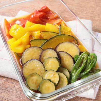 彩り野菜の南蛮漬け
