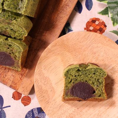 春菊とあんこのパウンドケーキ