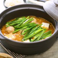 麻婆豆腐風 肉団子鍋