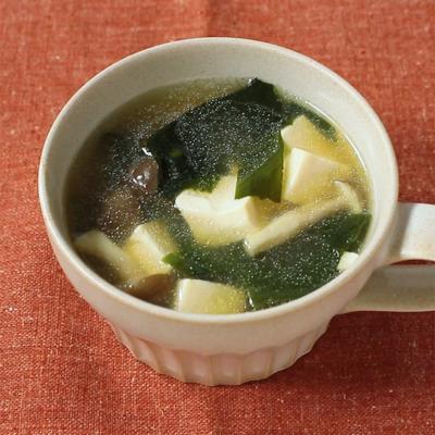 わかめと豆腐の韓国風スープ
