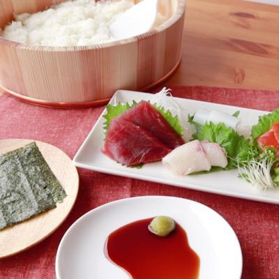 巻くだけ簡単 手巻き寿司