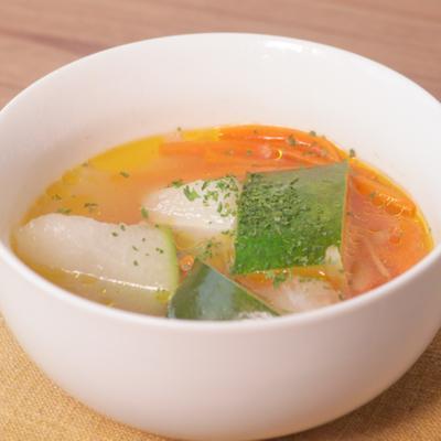ほっこり 冬瓜のジンジャースープ
