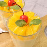 ふわシュワ〜オレンジムース
