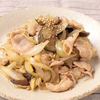 豚と玉ねぎの生姜炒め