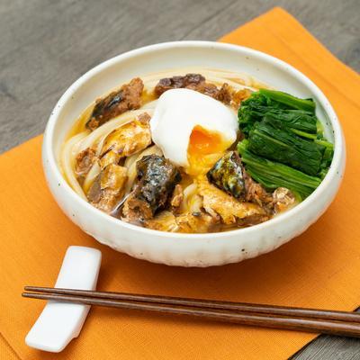 「パブロン かぜに愛情レシピ」旨味たっぷり!サバ缶味噌うどん