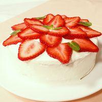 特別な日に作りたい!手作りショートケーキ