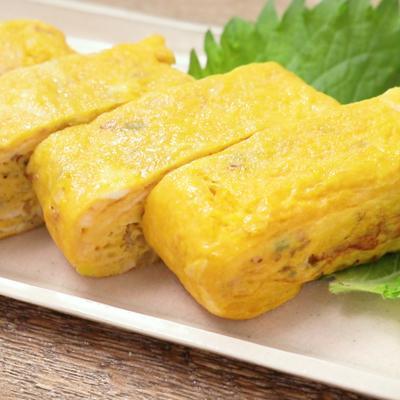 香味野菜の厚焼き卵