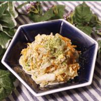 白菜のジンジャーツナサラダ