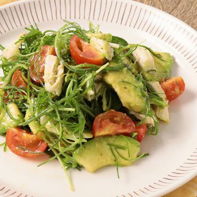 おかひじきのイタリアン風サラダ