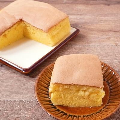 粉チーズで台湾風チーズカステラ