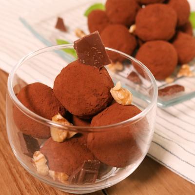 簡単デザート チョコケーキボール