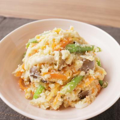 いろいろな野菜で作る 卯の花の煮物