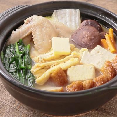 ピリ辛こく旨 味噌バターちゃんこ鍋