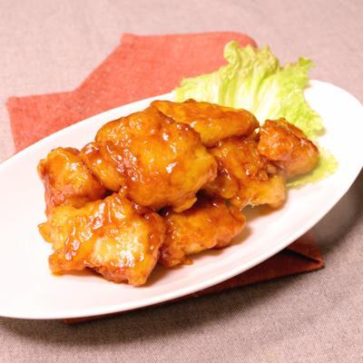 甘酢ソースを絡めて!ふっくら鶏むね肉の中華揚げ