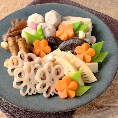 おせちやおもてなしに 野菜の炊き合わせ