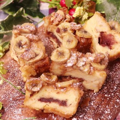あんバナナフレンチトーストブレッド