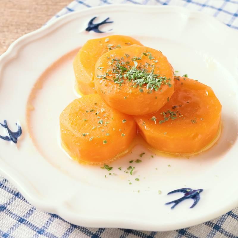 レンジで簡単 にんじんのグラッセ 作り方・レシピ