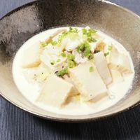 白菜と厚揚げの簡単クリーム煮