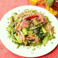 小松菜ときのこの和風スパゲティ