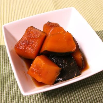 めんつゆで簡単!かぼちゃの煮物