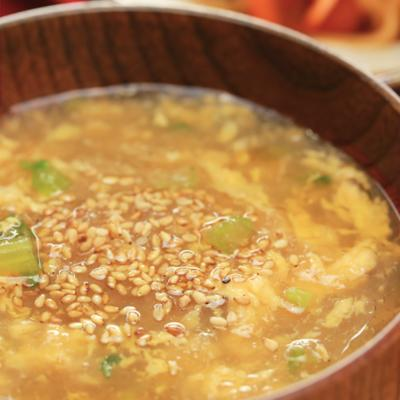 トロトロ 大根おろしと卵のスープ
