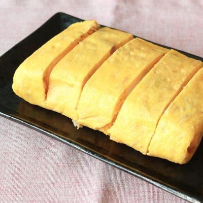 ふわふわチーズ入りはんぺん厚焼き卵